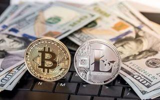 Litecoin сенсационно ворвался в топ 5 криптовалют, Ripple растёт