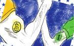 График криптовалюты биткоина к доллару