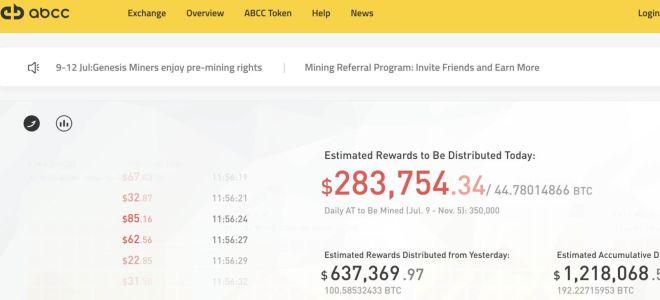 ABCC новая биржа криптовалют с фирменным токеном