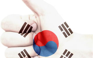 Южная Корея приняла криптовалюты