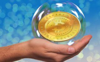 Долгосрочный график роста цены биткоина отличается от графика финансового пузыря