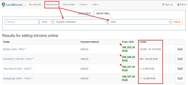 Как выводить биткоин на Киви кошелек и пополнять счёт BTC с Qiwi