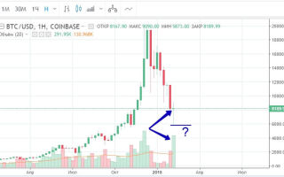 Курс рынка криптовалют: биткоин падал месяц, близится разворот?