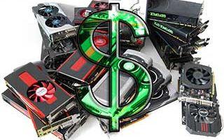Цена криптовалюты подняла стоимость видеокарт, на очереди компьютеры и смартфоны