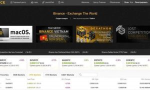 Обзор криптовалютной биржи Бинанс (Binance) и её торговых преимуществ