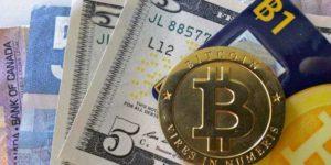 биткоин, доллар, евро