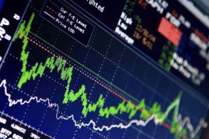Биржа криптовалют - график цен