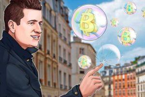 биткоин упал - мыльный пузырь