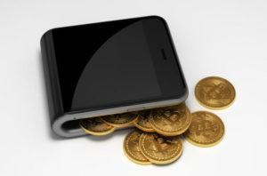 как пополнить биткоин кошелек в виде телефона
