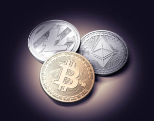 все криптовалюты: bitcoin, etherium, altcoin