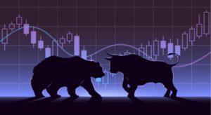 котировки биткоин - быки и медведи