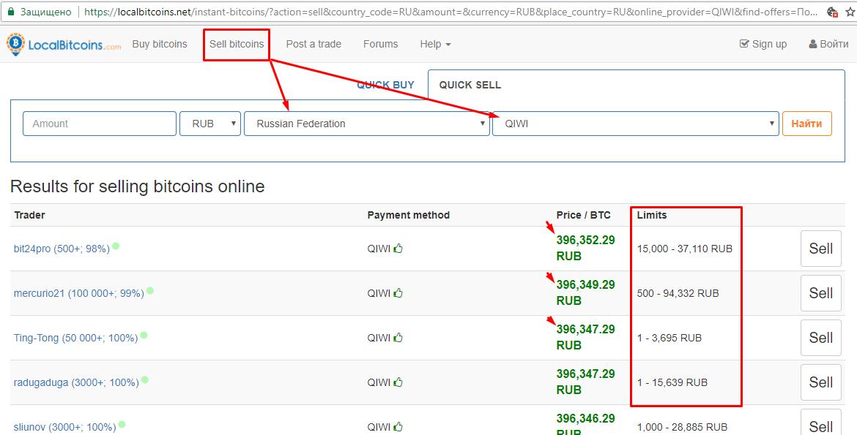 Киви Биткоин кошелек — обмен между валютами