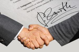 контракт двух партнеров