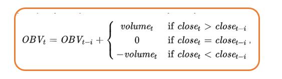 obv индикатор формула